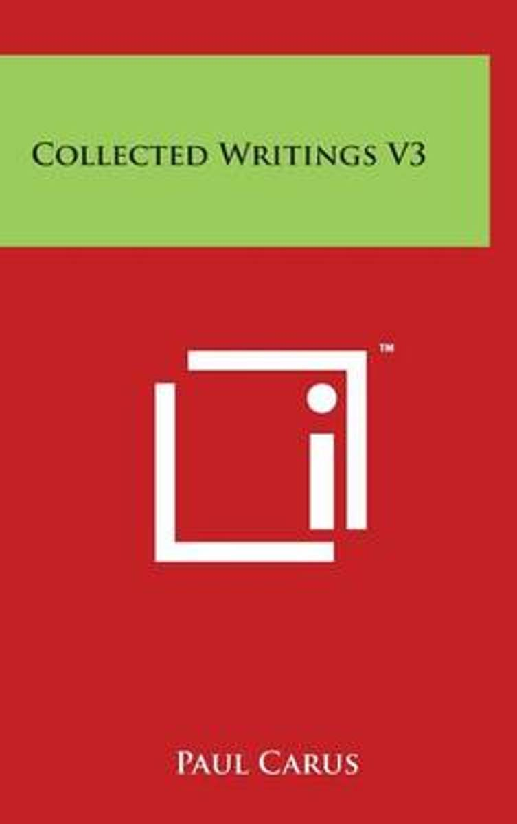 Collected Writings V3