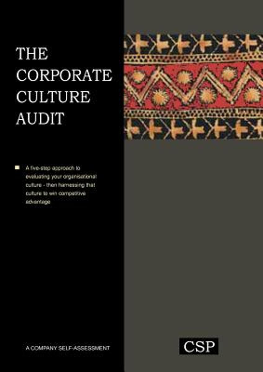 The Corporate Culture Audit