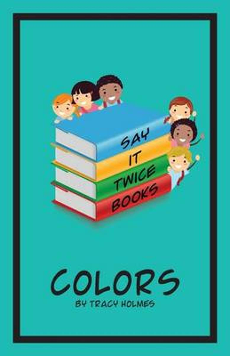 Say It Twice Books 'colors'