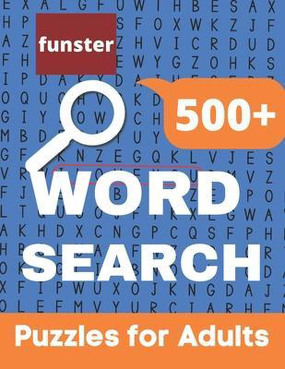 Funster 500+ Word Search Puzzles for Adults
