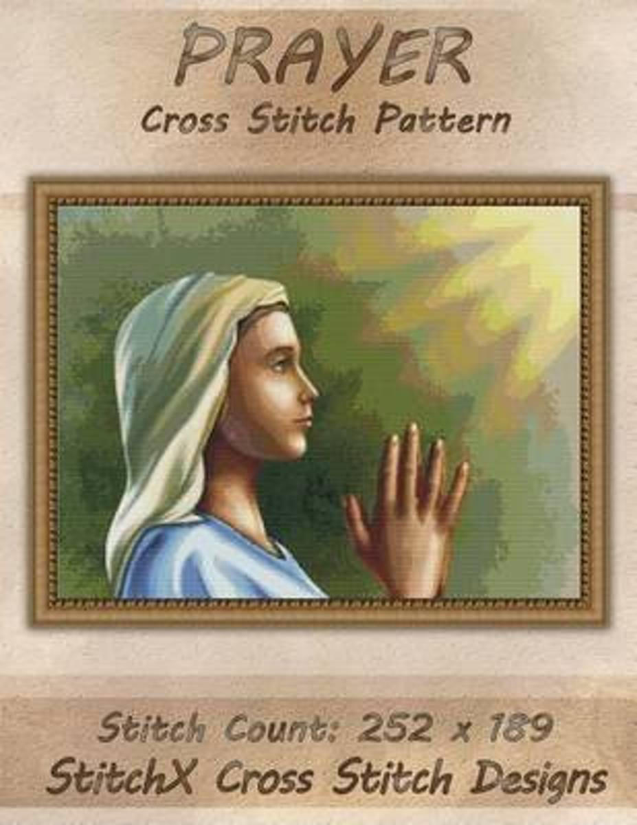 Prayer Cross Stitch Pattern
