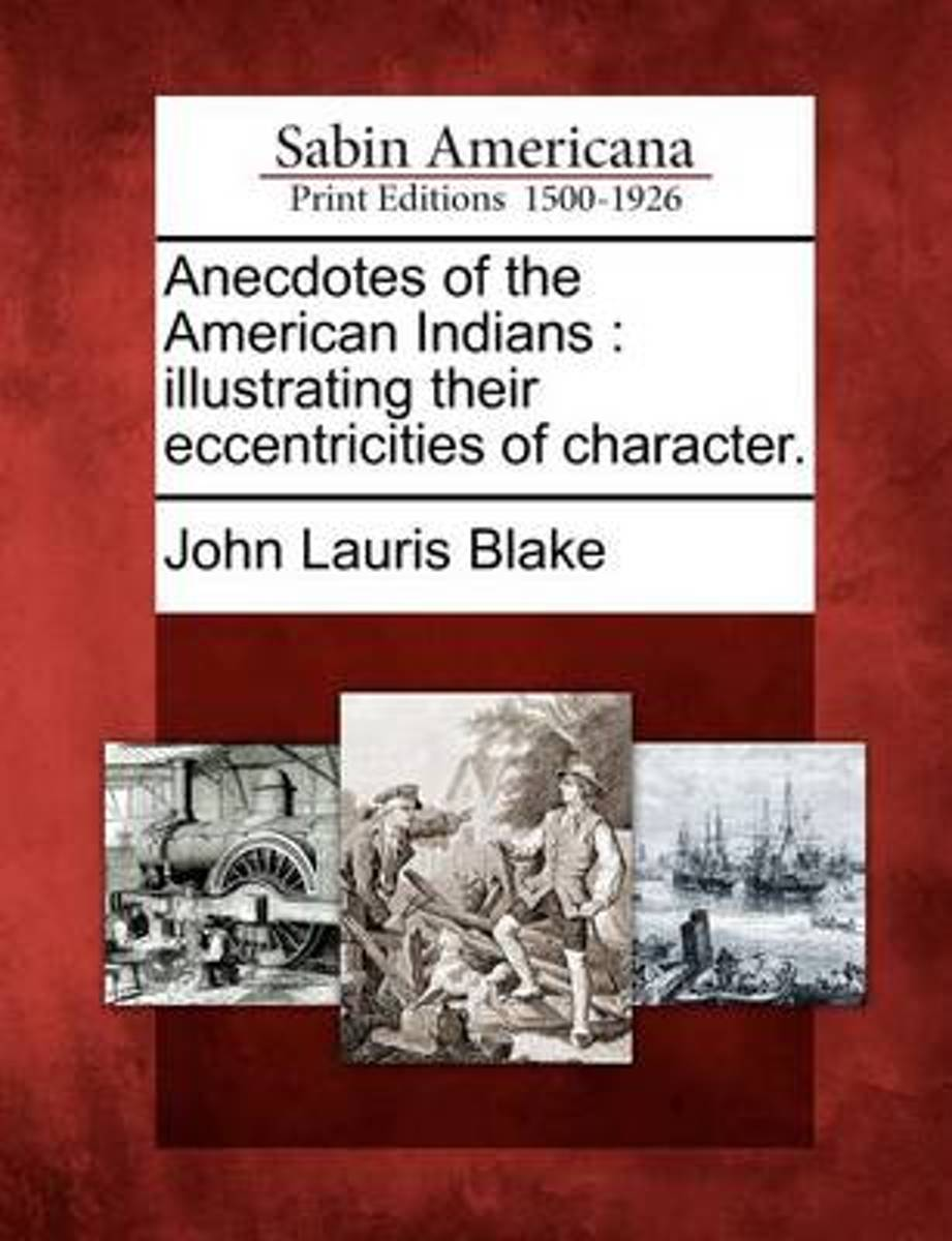 Anecdotes of the American Indians