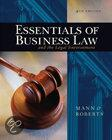 Essent Of Bus Law And Legal Env