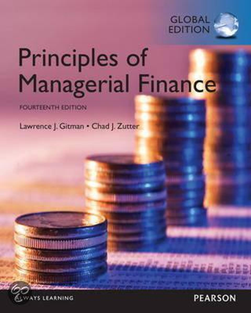 MyFinanceLab -- Access Card -- Principles of Managerial Finance, Global Edition