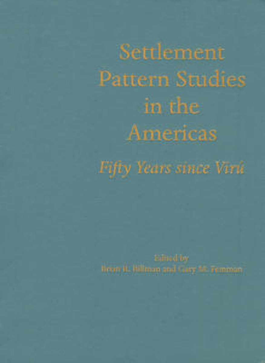 Settlement Pattern Studies in the Americas
