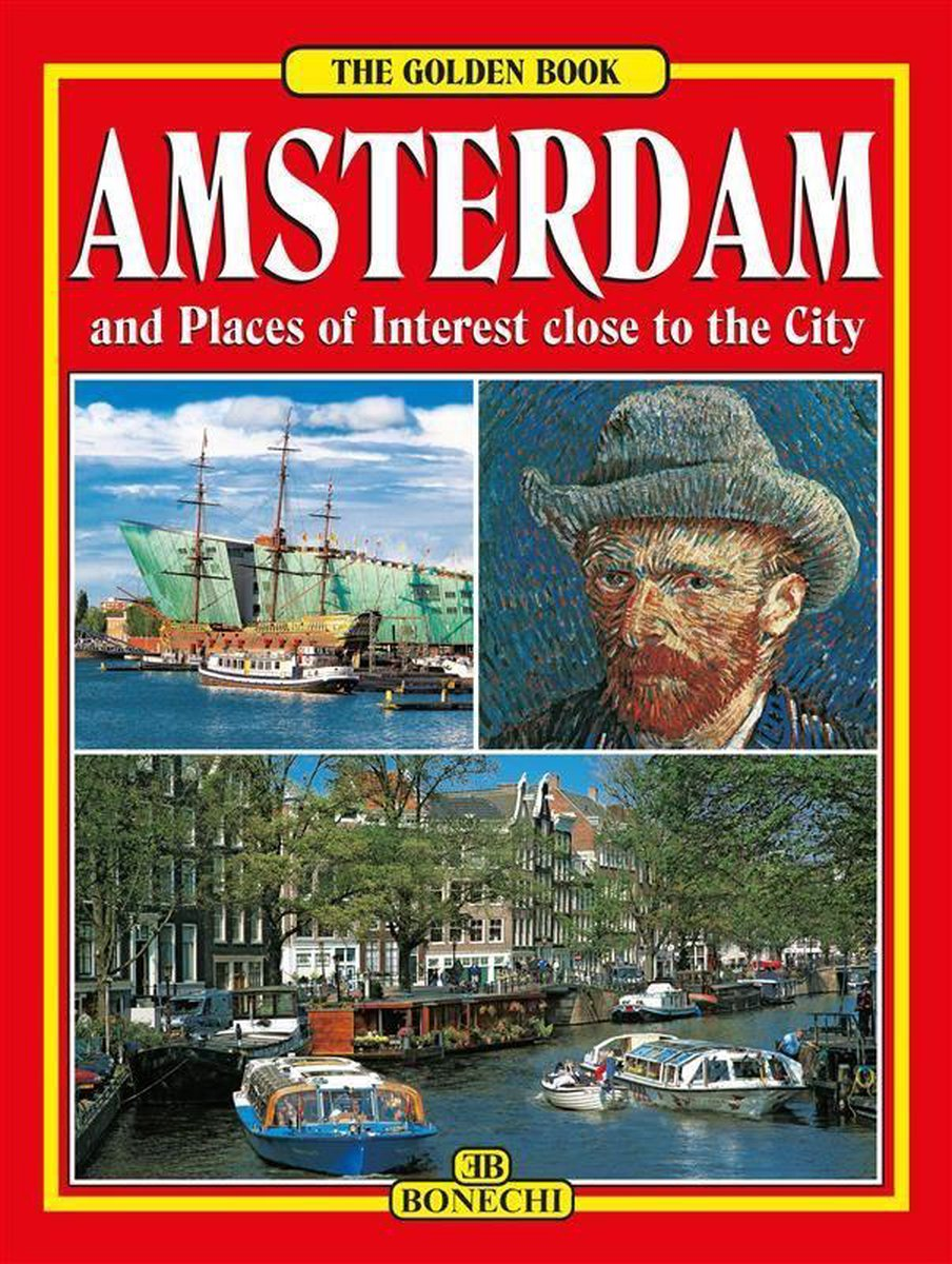 Amsterdam The Golden Book - English Edition