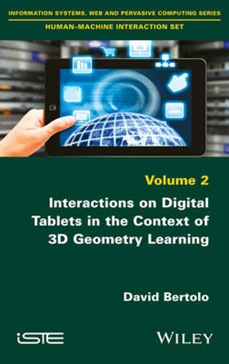 Interactions on Digital Tablets in the Context of 3D Geometry Learning