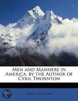 Men and Manners in America, by the Author of Cyril Thornton