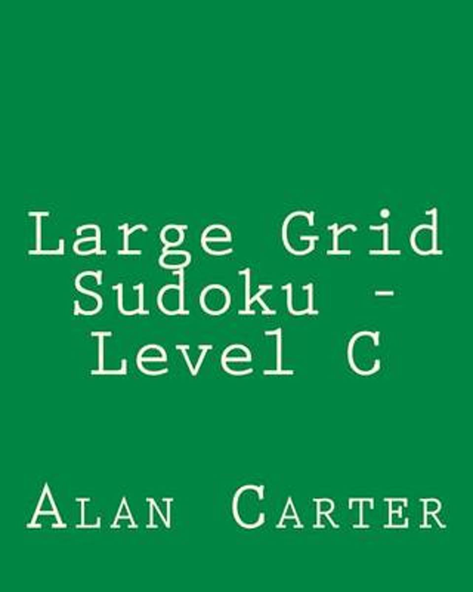 Large Grid Sudoku - Level C