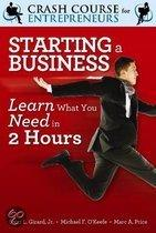 A crash course in starting a business