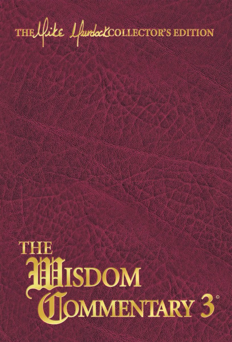 The Wisdom Commentary, Volume 3