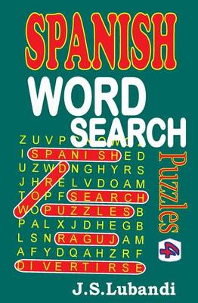 Spanish Word Search Puzzles 4
