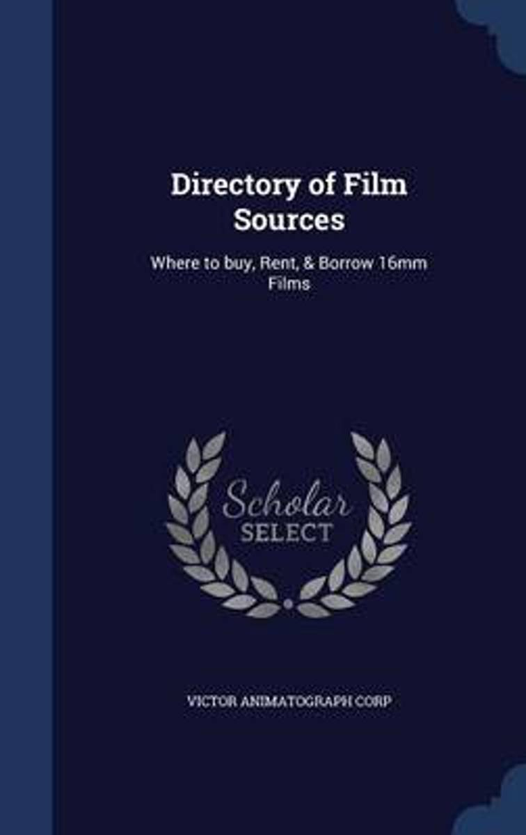 Directory of Film Sources