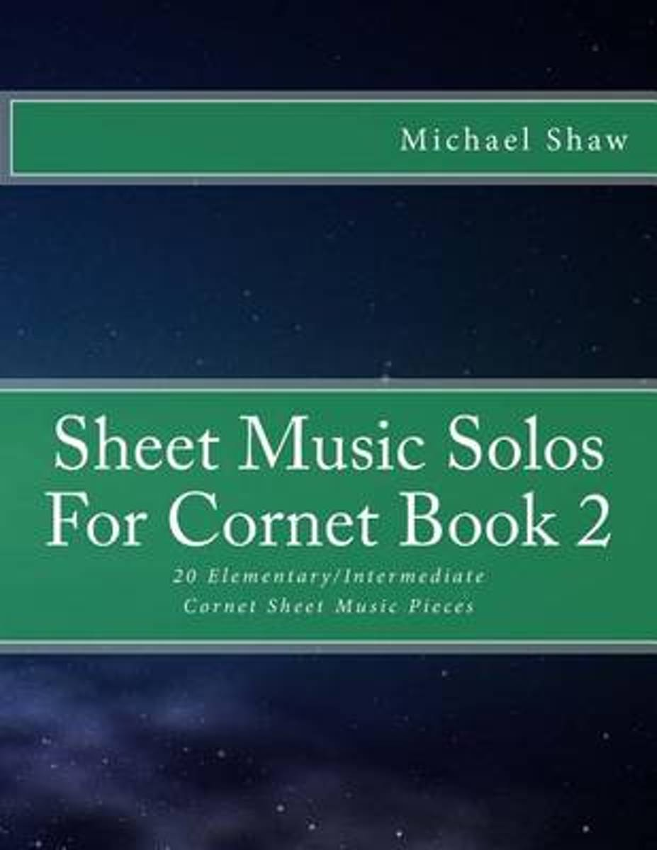 Sheet Music Solos for Cornet Book 2