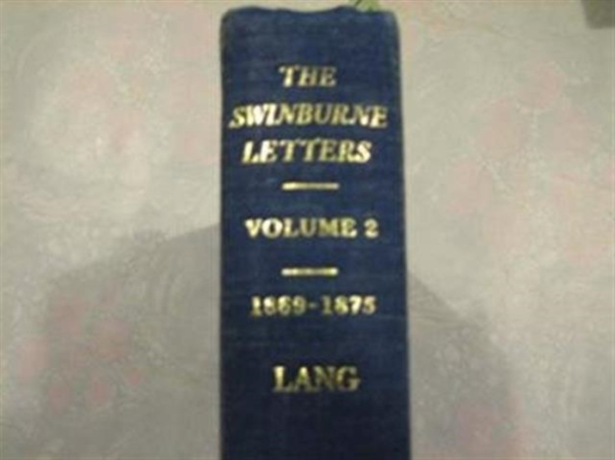 The Yale Edition of The Swinburne Letters