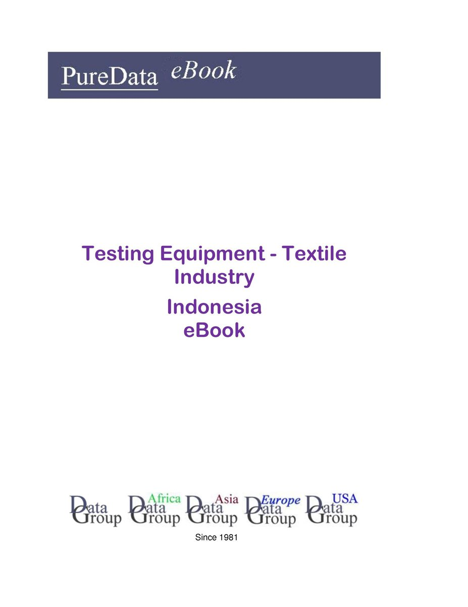 Testing Equipment - Textile Industry in Indonesia
