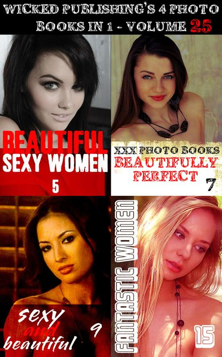 Wicked Publishing's 4 Photo Books In 1 - Volume 25