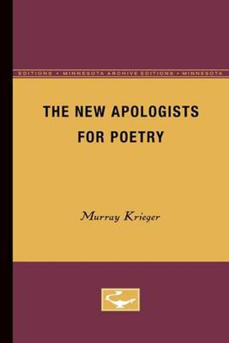 The New Apologists for Poetry