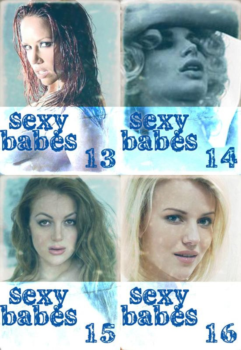 Sexy Babes Collected Edition 4 – Volumes 13-16