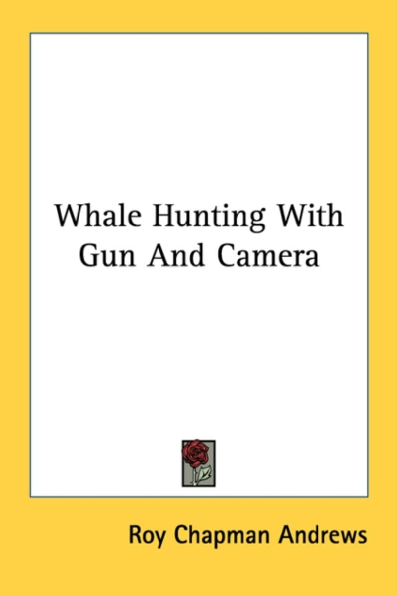 Whale Hunting with Gun and Camera