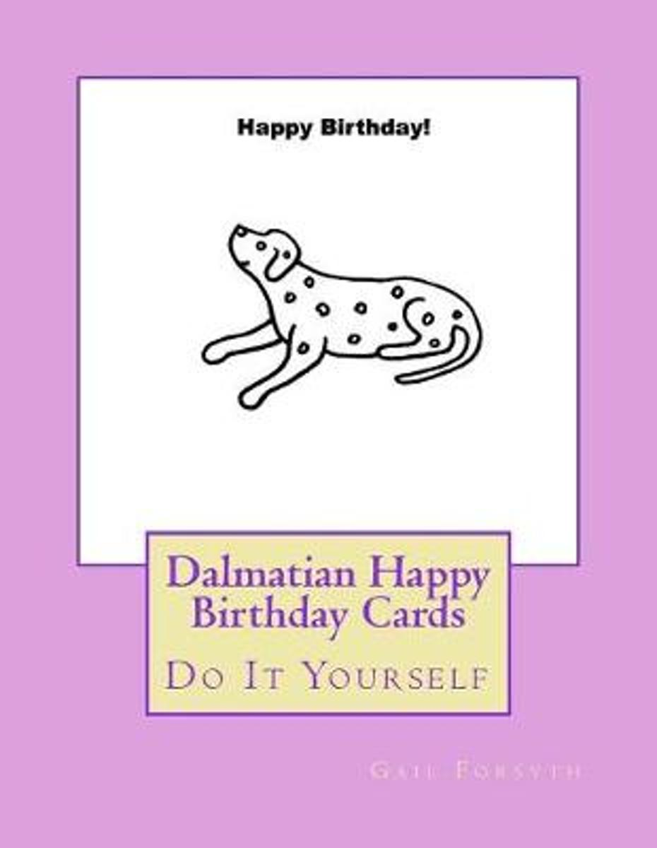 Dalmatian Happy Birthday Cards