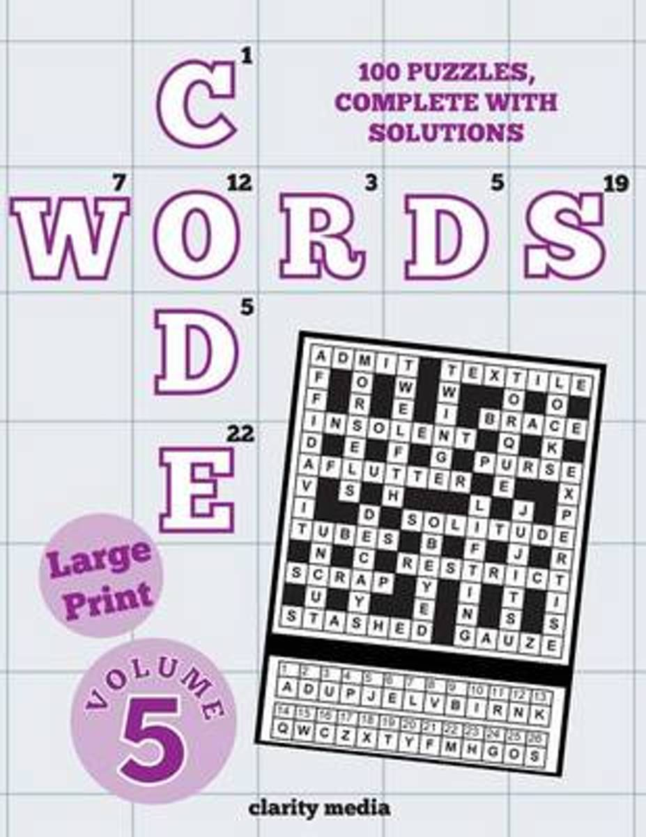 Large Print Code Words Volume 5