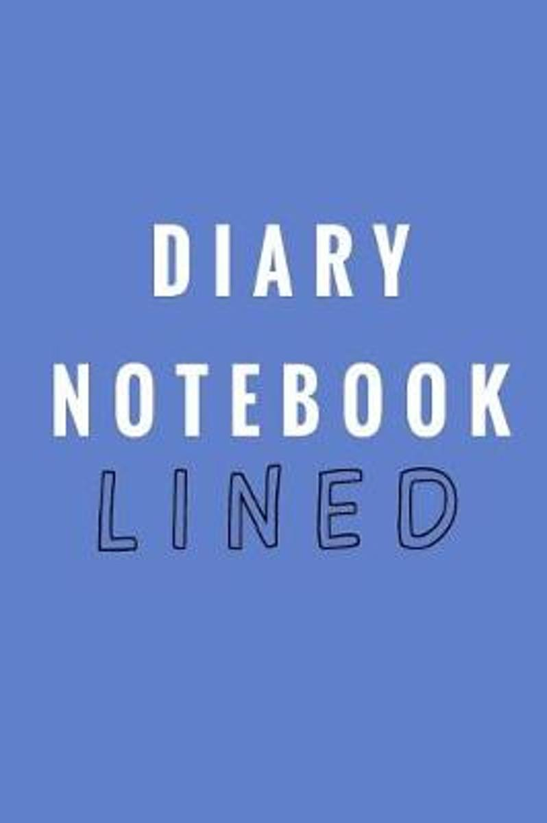 Diary Notebook Lined