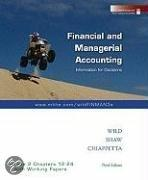 Financial And Managerial Accounting, Volume 2 Chapters 12-24 With Working Papers