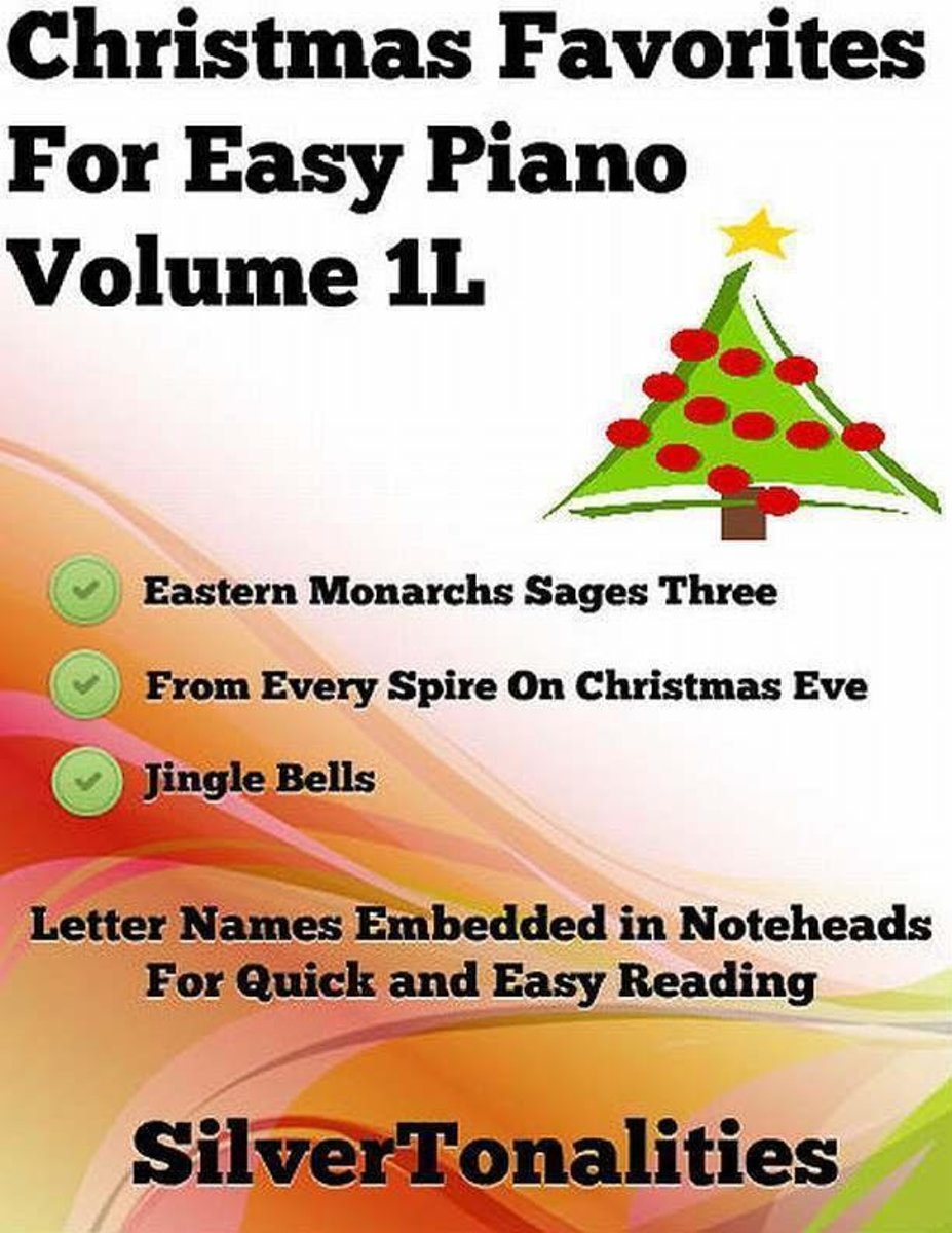 Christmas Favorites for Easy Piano Volume 1 L
