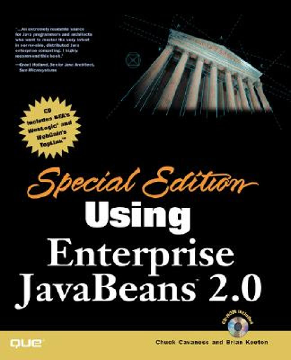 Special Edition Using Enterprise JavaBeans 2.0