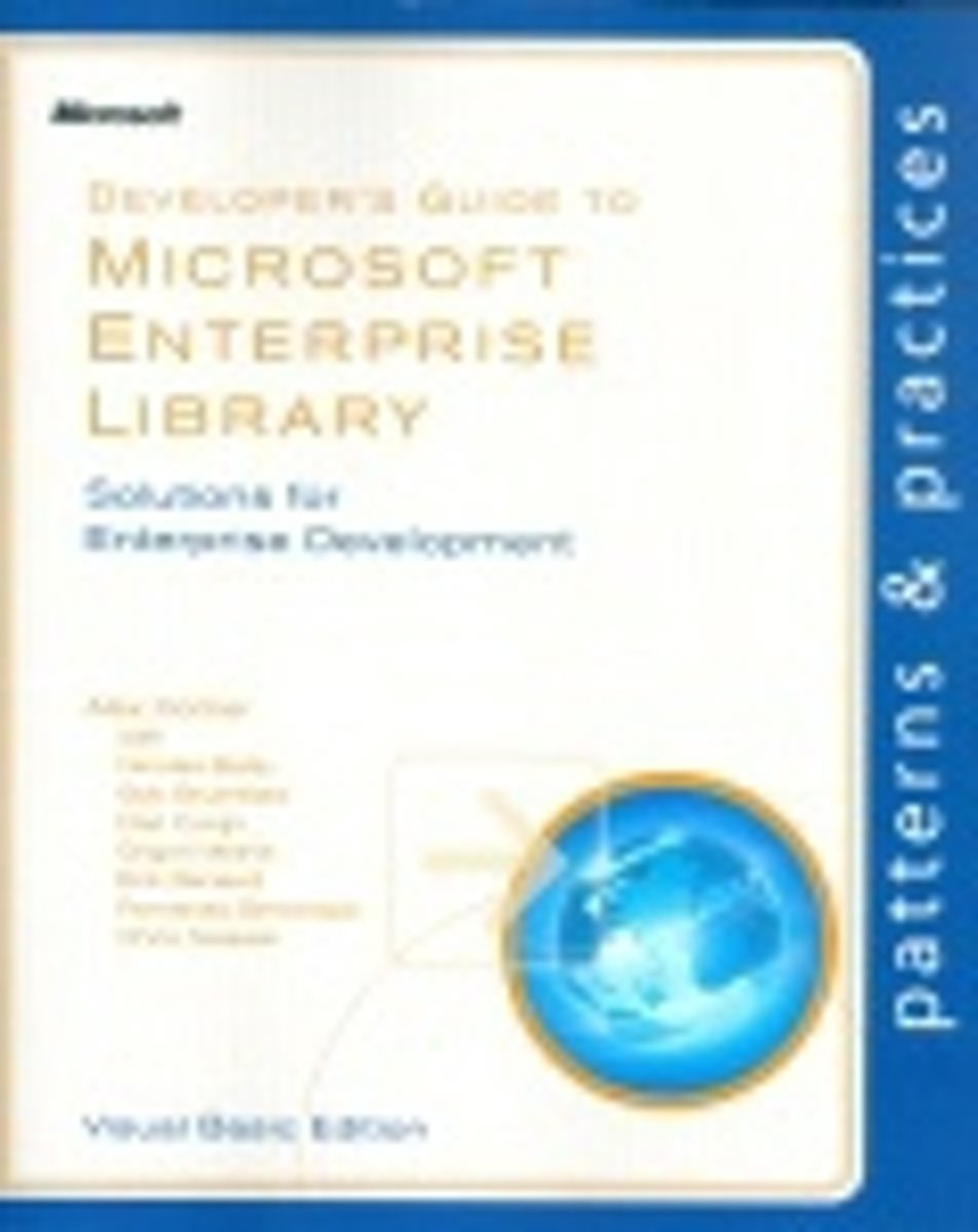 Developer's Guide to Microsoft Enterprise Library, Visual Basic Edition