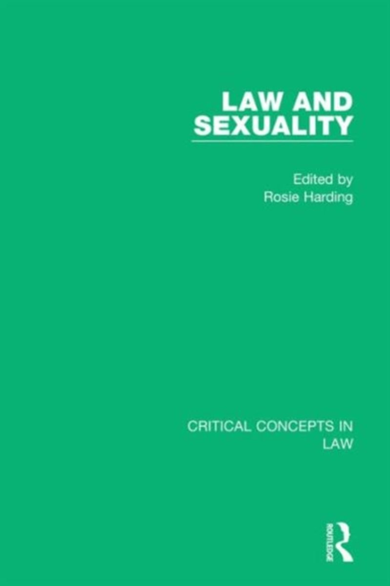Law and Sexuality