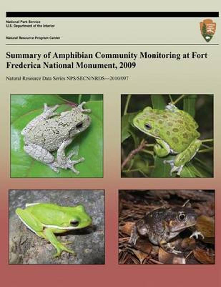 Summary of Amphibian Community Monitoring at Fort Frederica National Monument, 2009