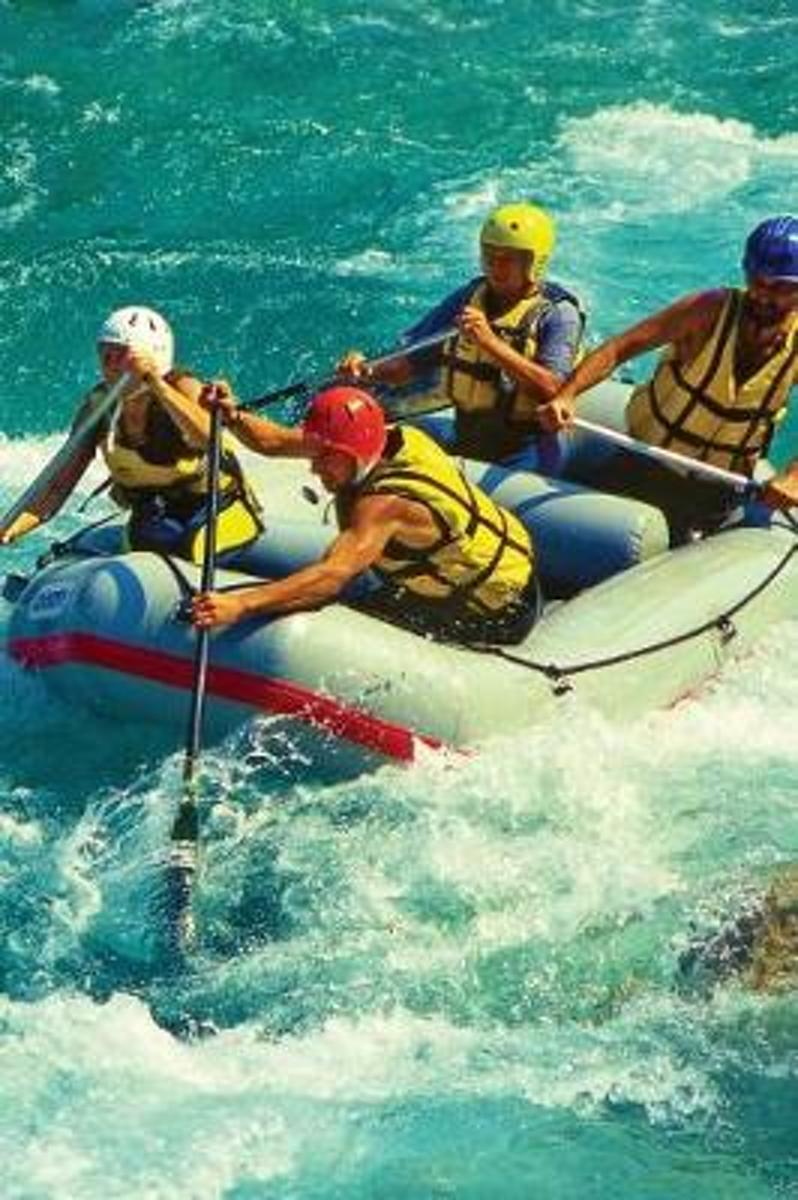 Rafting, White Water Blank Book