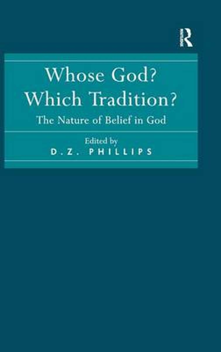 Whose God? Which Tradition?