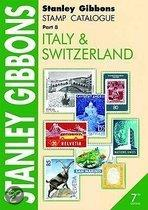 Stanley Gibbons Stamp Catalogue Part 8 Italy & Switzerland