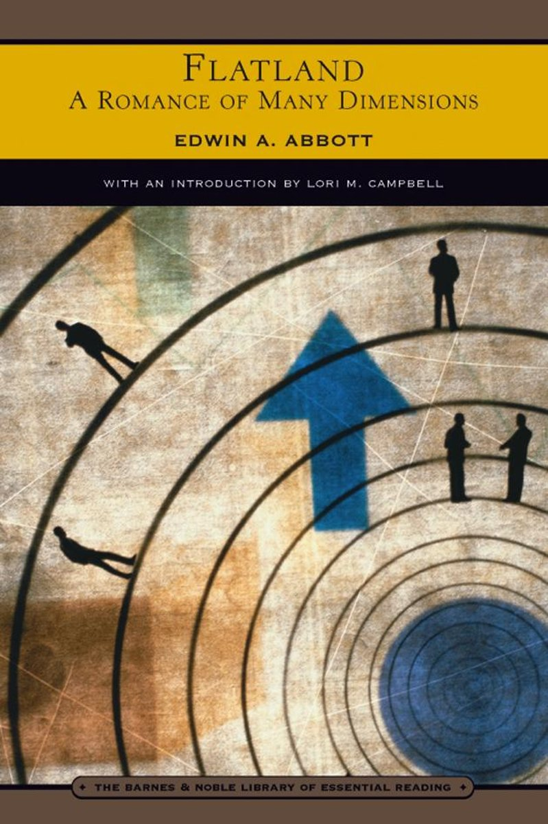 Flatland (Barnes & Noble Library of Essential Reading)