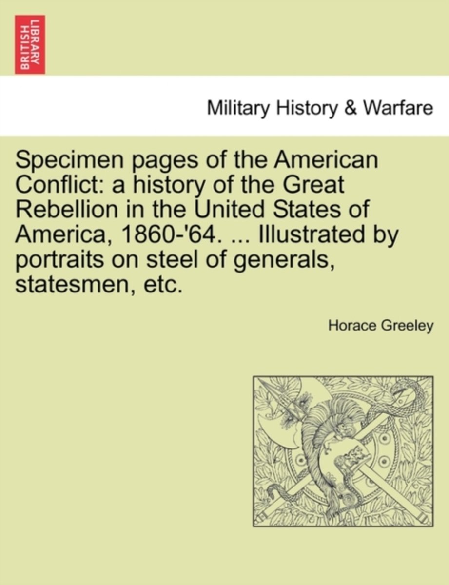 Specimen Pages of the American Conflict