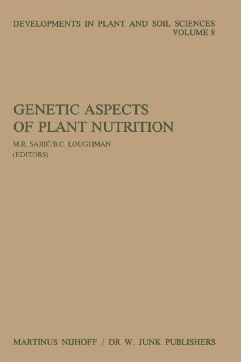 Genetic Aspects of Plant Nutrition