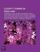County towns in England
