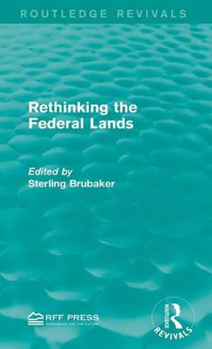 Rethinking the Federal Lands