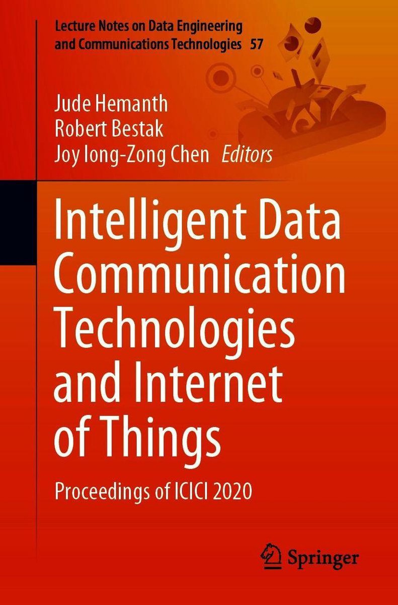 Intelligent Data Communication Technologies and Internet of Things