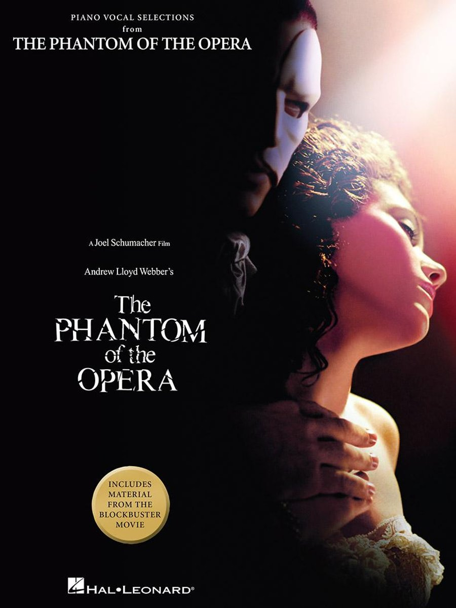 The Phantom of the Opera - Movie Selections (Songbook)