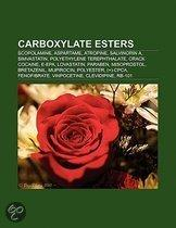 Carboxylate esters