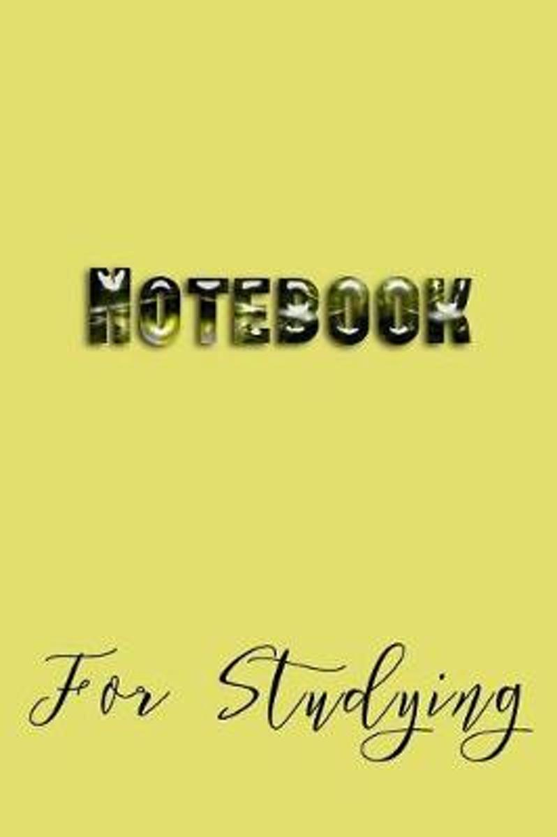 Notebook for Studying