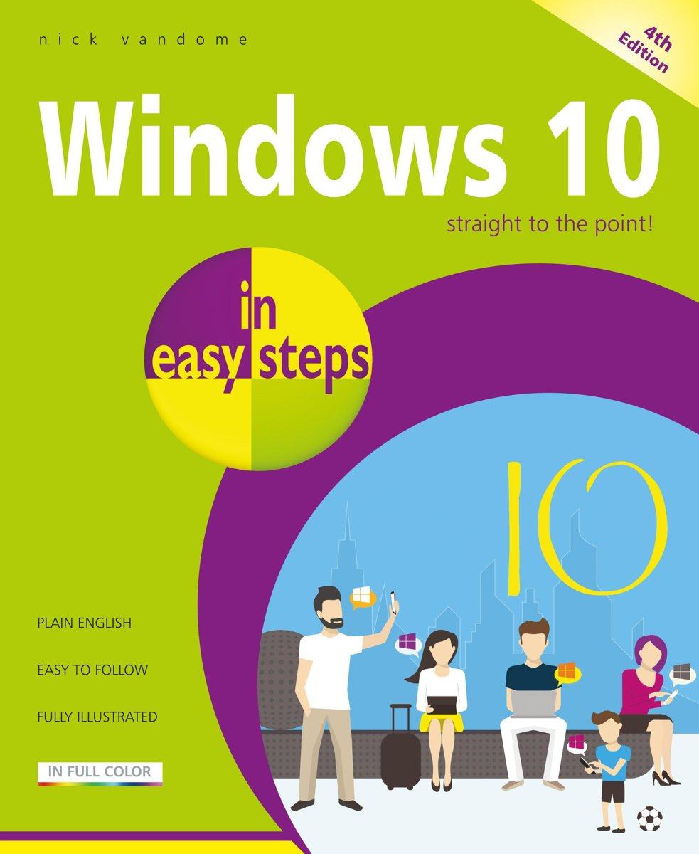 Windows 10 in easy steps, 4th Edition