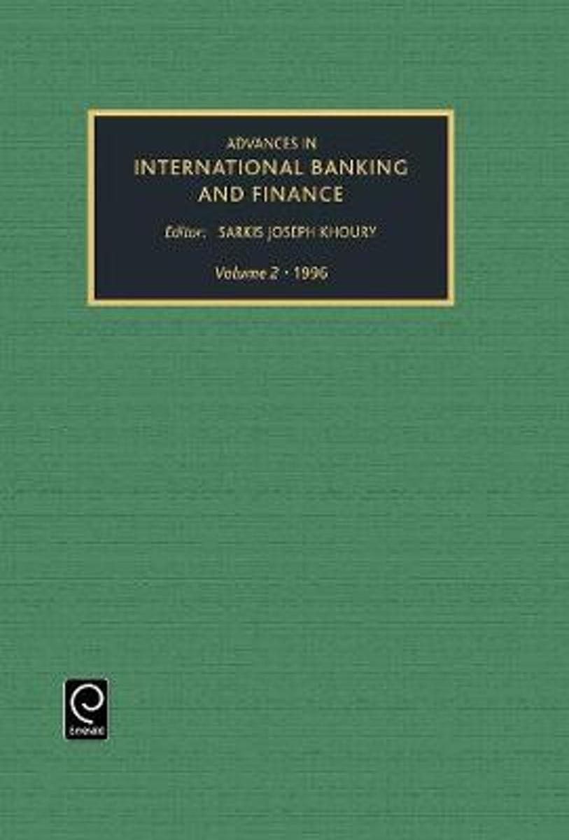 Advances in international banking and finance
