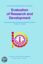 Evaluation of Research and Development