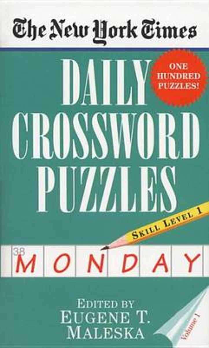 New York Times Daily Crossword Puzzles (Monday), Vo
