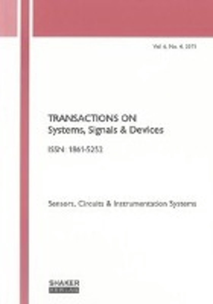 Transactions on Systems, Signals and Devices Vol. 6, No. 4